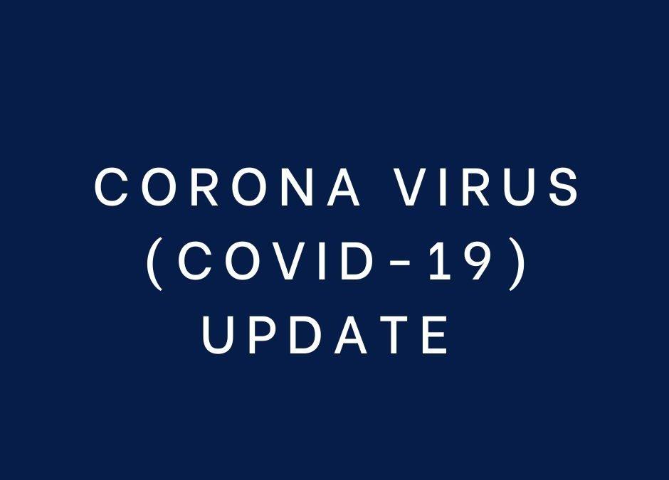 COVID 19 UPDATE 08